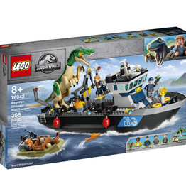 LEGO 76942 Baryonyx Dinosaur Boat Escape V39