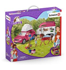Schleich Adventures With Car