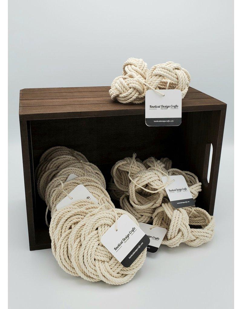 Knotical Design Crafts Knotical Design Crafts Napkin Rings (set of 4)