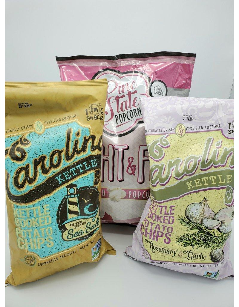 Carolina Kettle Chips - Sea Salt 5oz