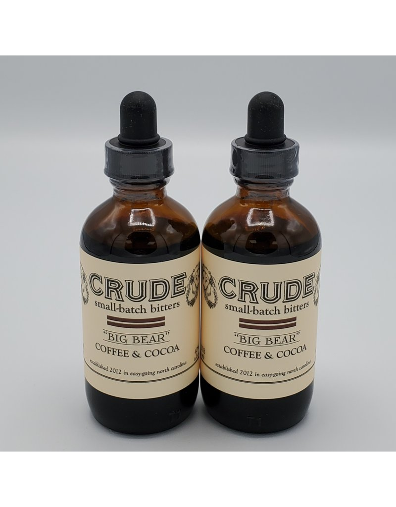 Crude Bitters Crude Big Bear 4oz.