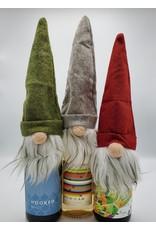 Santa Gnome Bottle Hats, ass't