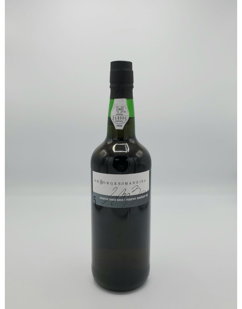H M Borges 5 year Old Reserve Medium Dry Madeira