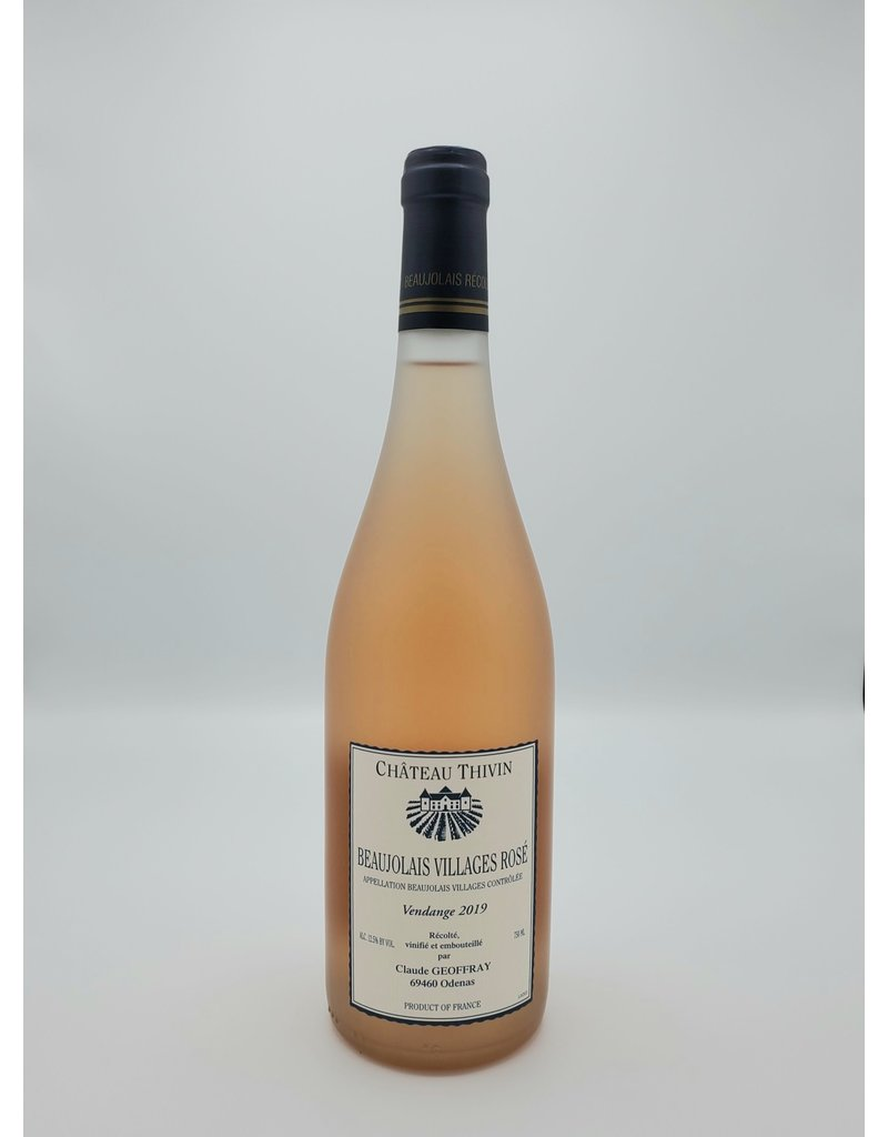 Kermit Lynch Wine Merchant Chateau Thivin Beaujolais Villages Rosé 2019