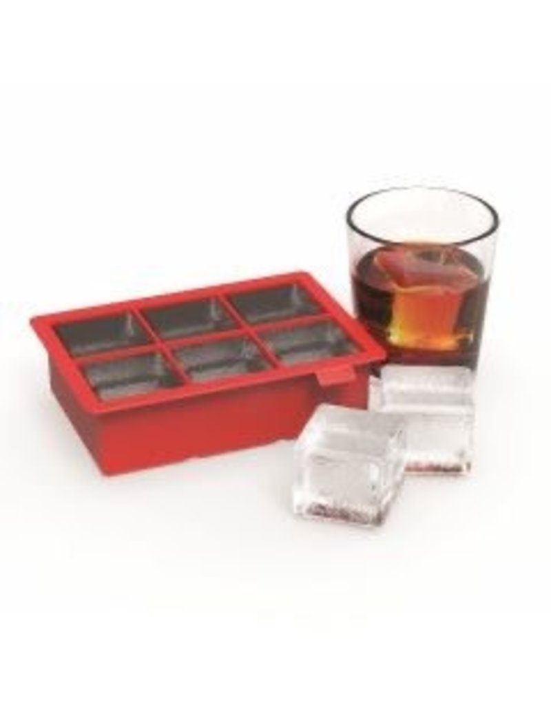 Red Colossal Ice Cube Tray