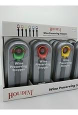 Houdini Wine Preserving Stopper, asst.
