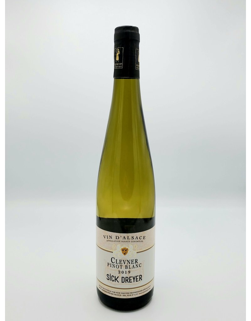 Sick Dreyer Clevner Pinot Blanc Alsace 2019