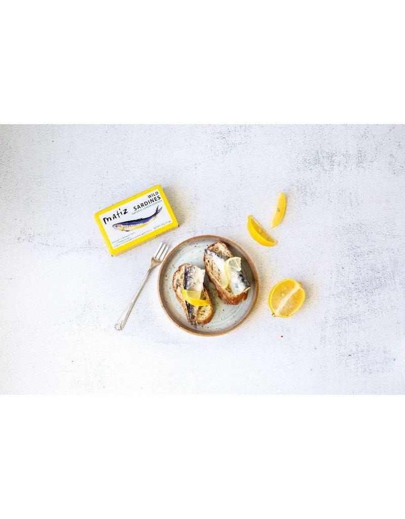 Matiz Sardines with Lemon 4.2oz