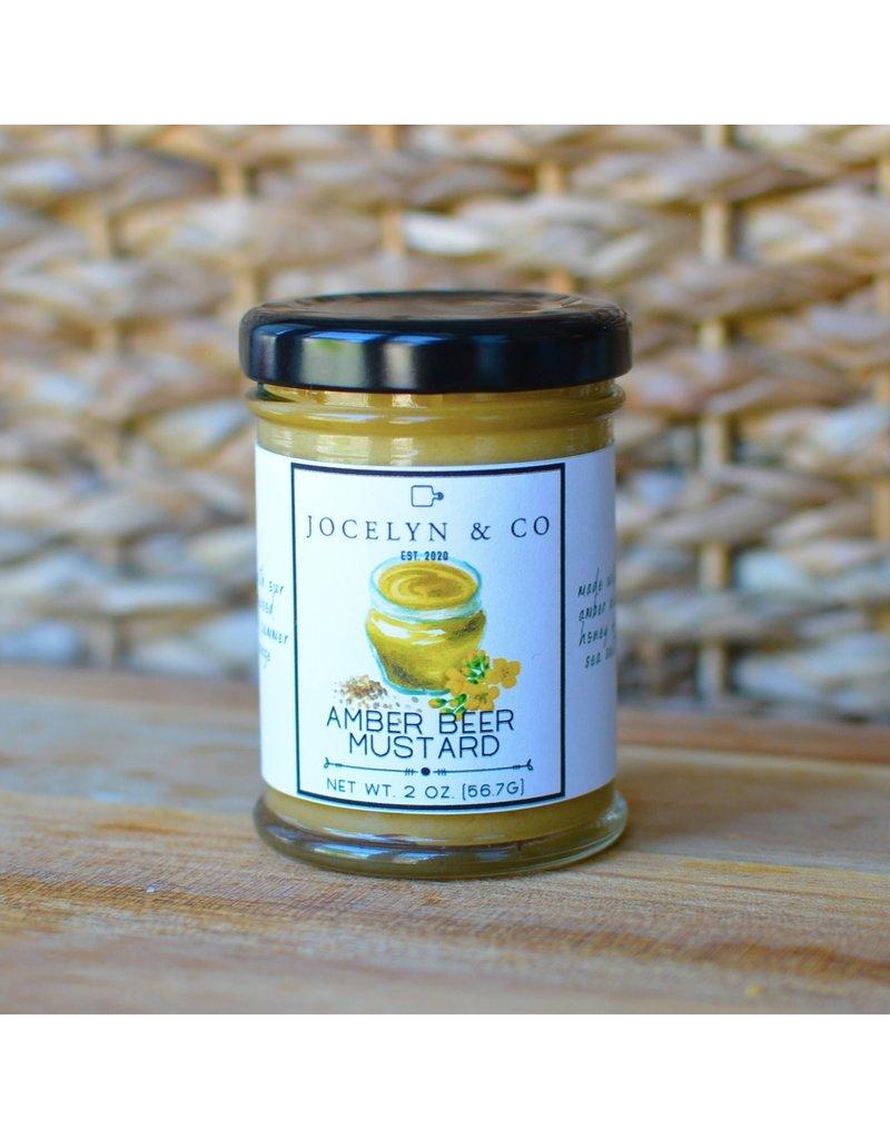 Jocelyn & Co Amber Beer Mustard 2oz.