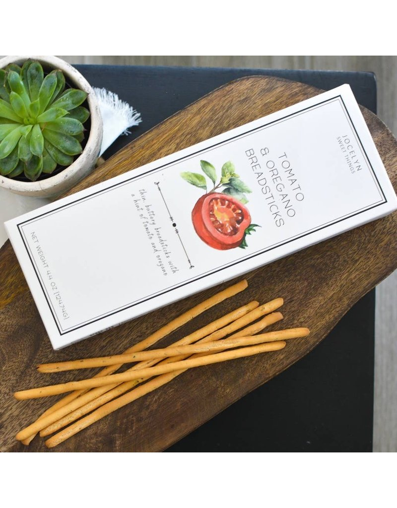 Jocelyn & Co Tomato & Oregano Breadsticks