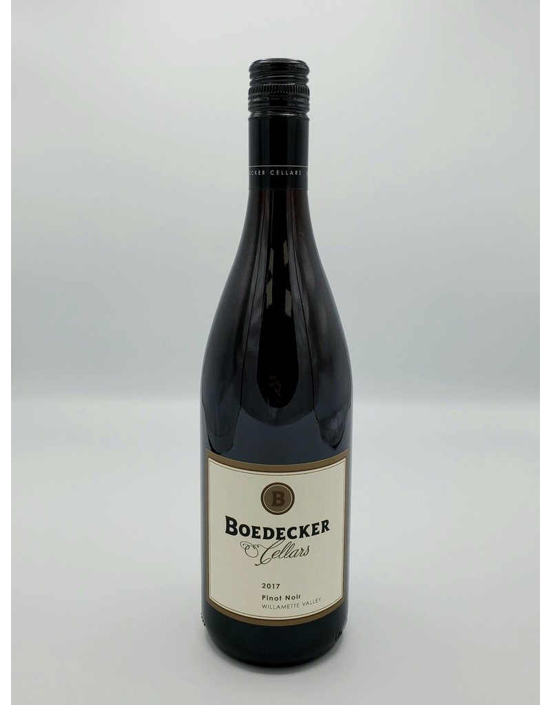 Boedecker Cellars Pinot Noir Willamette Valley 2017