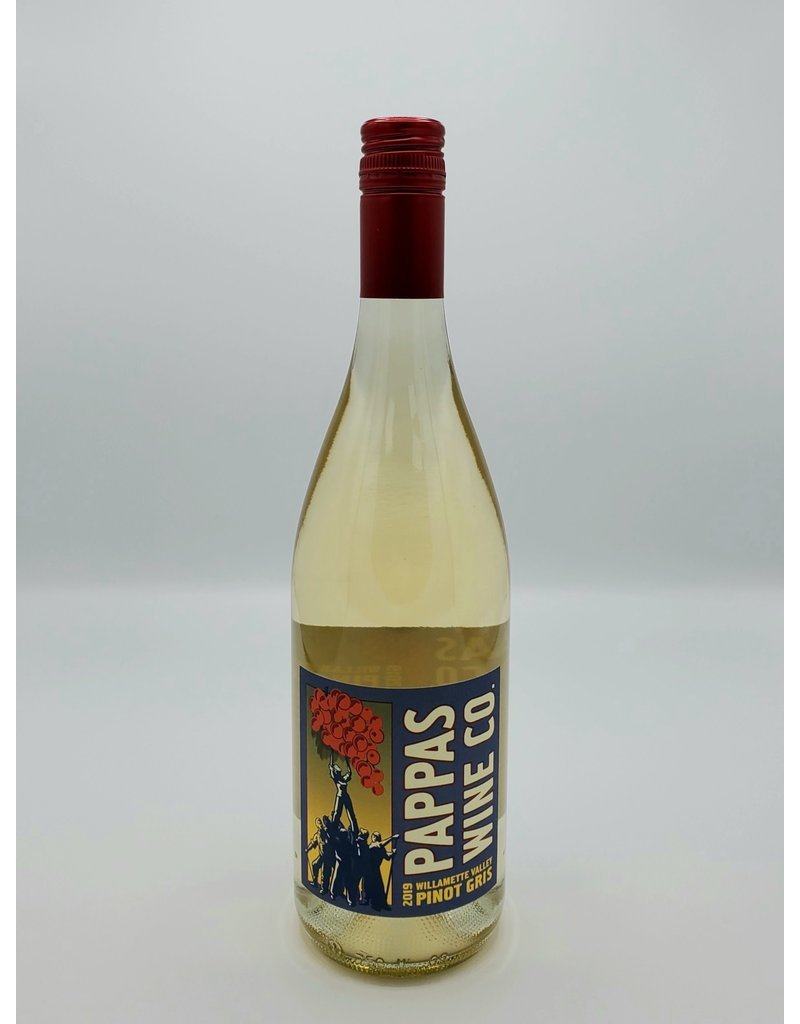 Pappas Wine Co. Pinot Gris Willamette Valley 2019