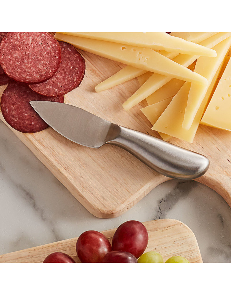 "Semi-Hard Cheese 5 1/4"" Stainless Steel Knife"