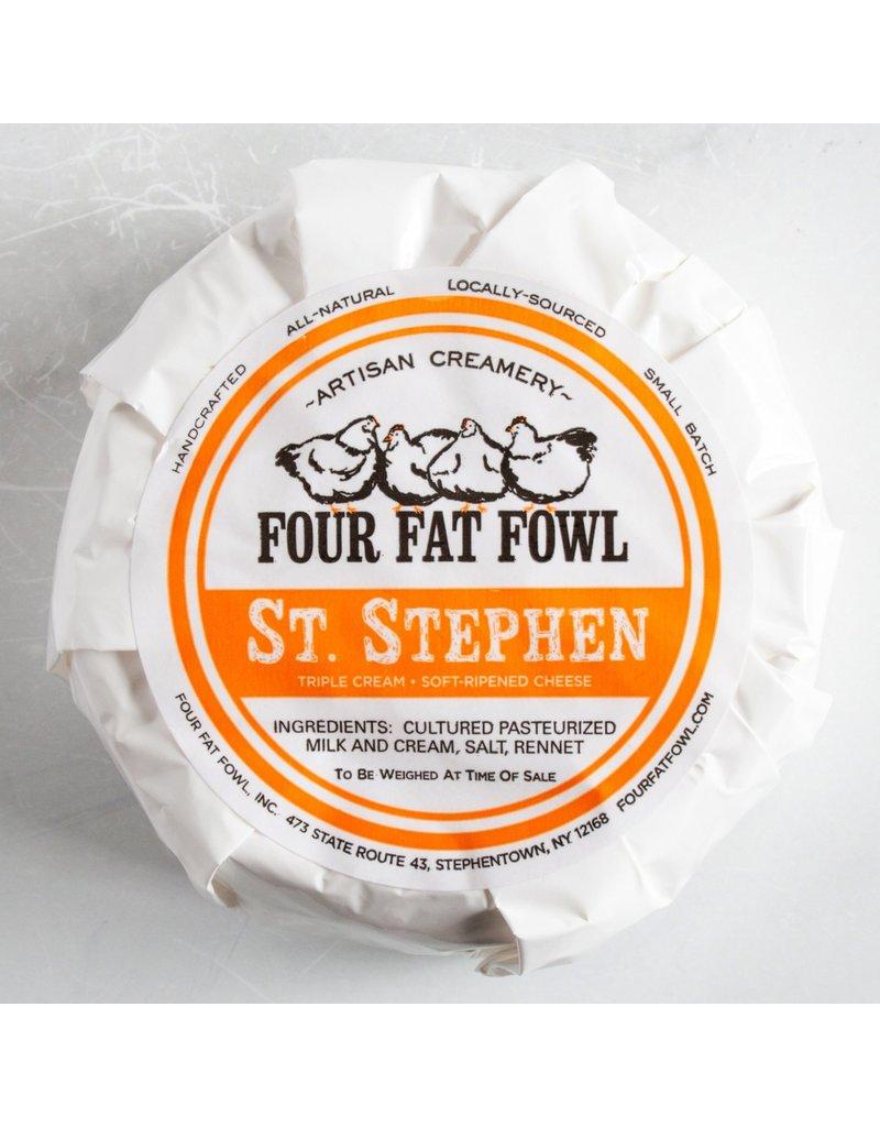 St. Stephen Four Fat Fowl Triple Cream Cheese 7.5oz