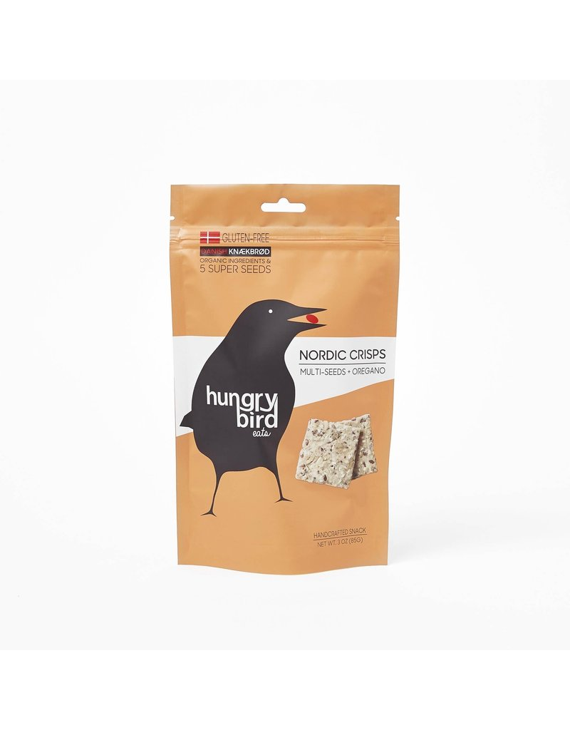 Hungry Bird Hungry Bird Gluten Free Multi-Seeds + Oregano 3oz