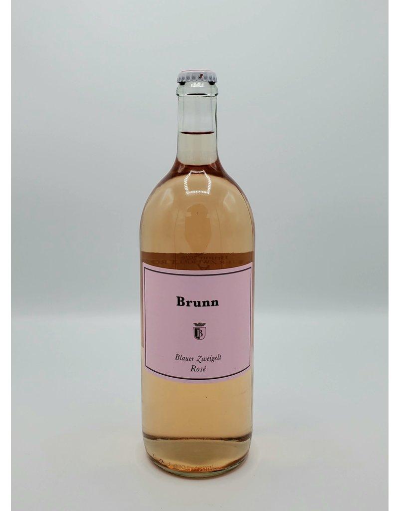 Brunn Blauer Zweigelt Rose  2020 1 Liter