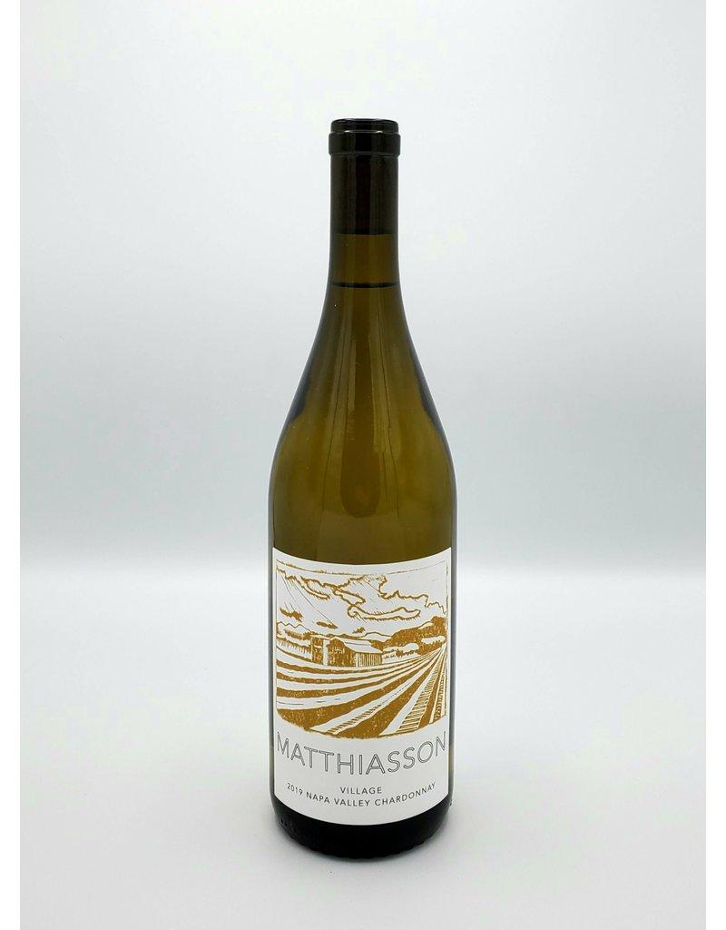 Matthiasson Village Chardonnay Napa 2019