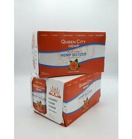 Queen City Hemp Seltzer Blood Orange 6pk