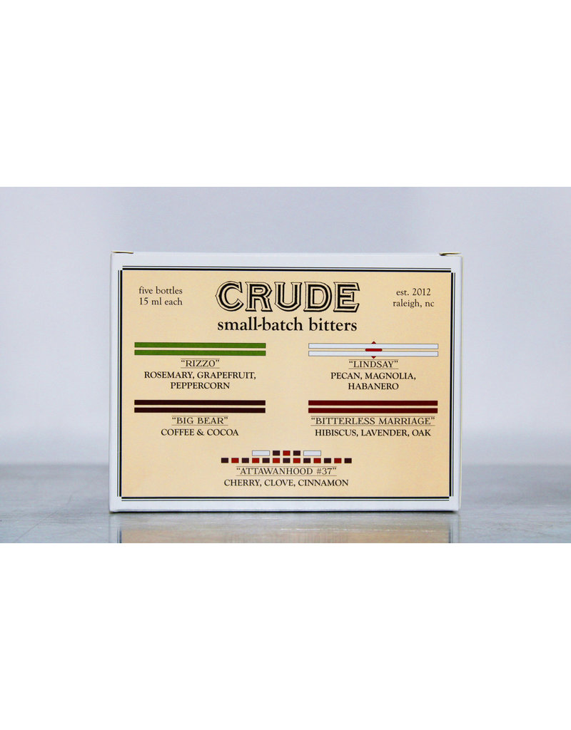 Crude Bitters Crude Bitters Sampler
