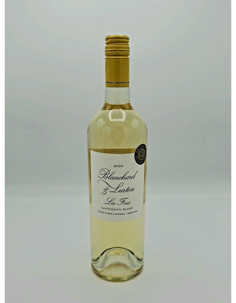 Blanchard and Lurton Les Fous Sauvignon Blanc 2020