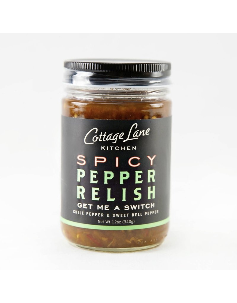 Cottage Cottage Lane Kitchen Get Me A Switch Spicy Pepper Relish 12oz