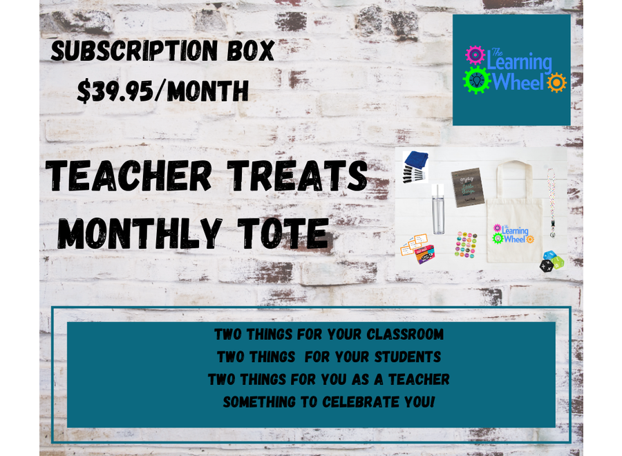 6 Months Teacher Tote