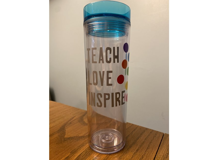 Teach Love Inspire Polka Dot