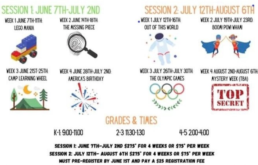 Summer Discovery Day Camp Registration Open