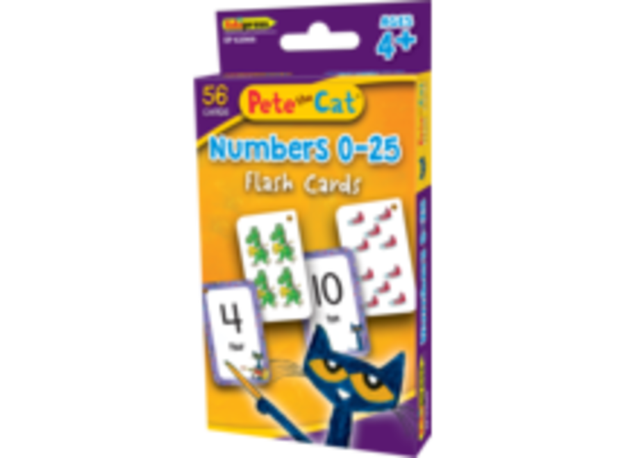 Pete the Cat Numbers 0-25
