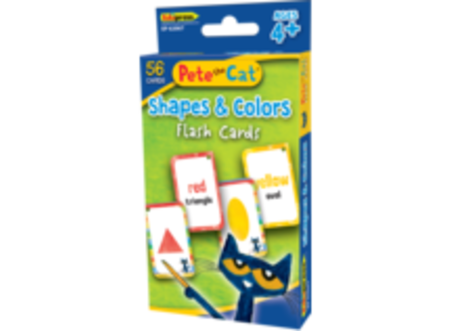 Pete the Cat Shapes and Colors Flash Cards