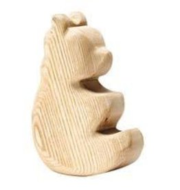 Ostheimer Natural Wood Rocking Bear