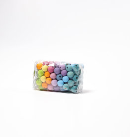 Grimm's Small Pastel Wooden Beads