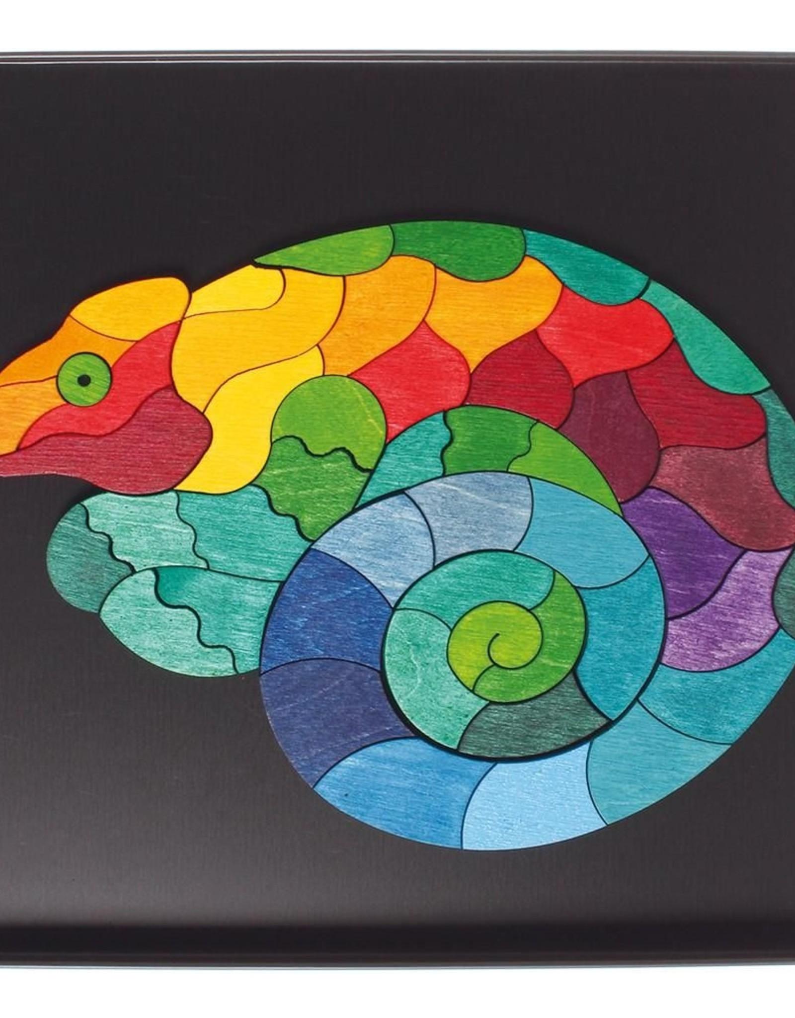 Grimm's Mini Magnetic Puzzle Chameleon