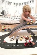 Waytoplay Toys Expressway Road Set, 16 pc.
