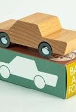Waytoplay Toys Back and Forth Car Woody (natural)