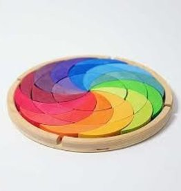 Grimm's Building Set Rainbow Colorwheel