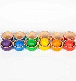 Grapat Bowls & Balls, 12 Bowls, 6 Balls
