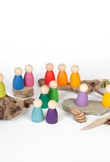 Grapat Twelve Nins, Wooden Peg People
