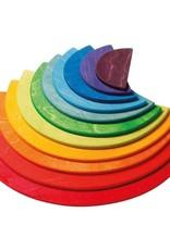 Grimm's Rainbow Semi Circles Building Set