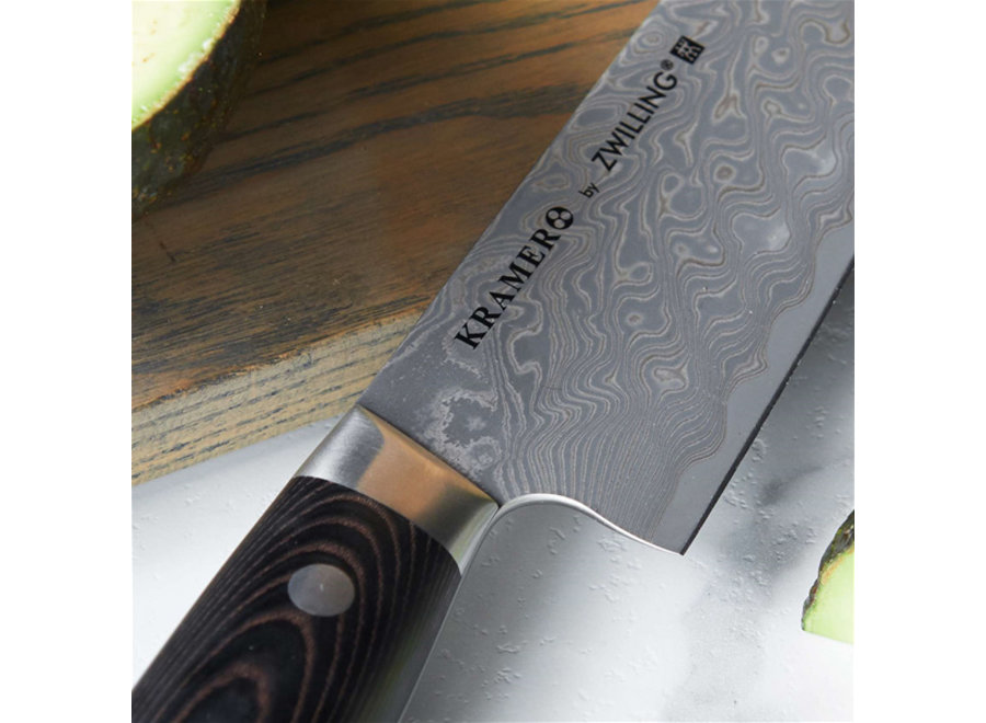 "Damascus Narrow 8"" Chef"