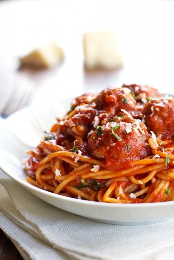 Healthy-Ish Spaghetti