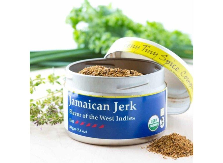 Organic Jamaican Jerk 2.8 oz.