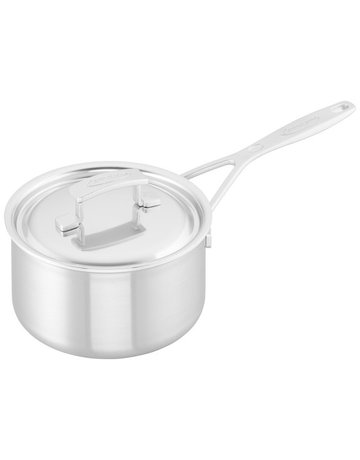 Demeyere 2 Qt Stainless Steel Sauce Pan with Lid