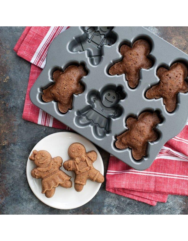 NordicWare Gingerbread Kids Cakelet Pan