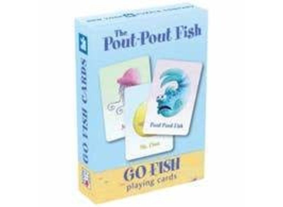 Pout Pout Go Fish Kids Playing Cards