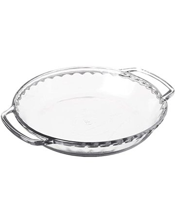 Fire King Glass Pie Dish
