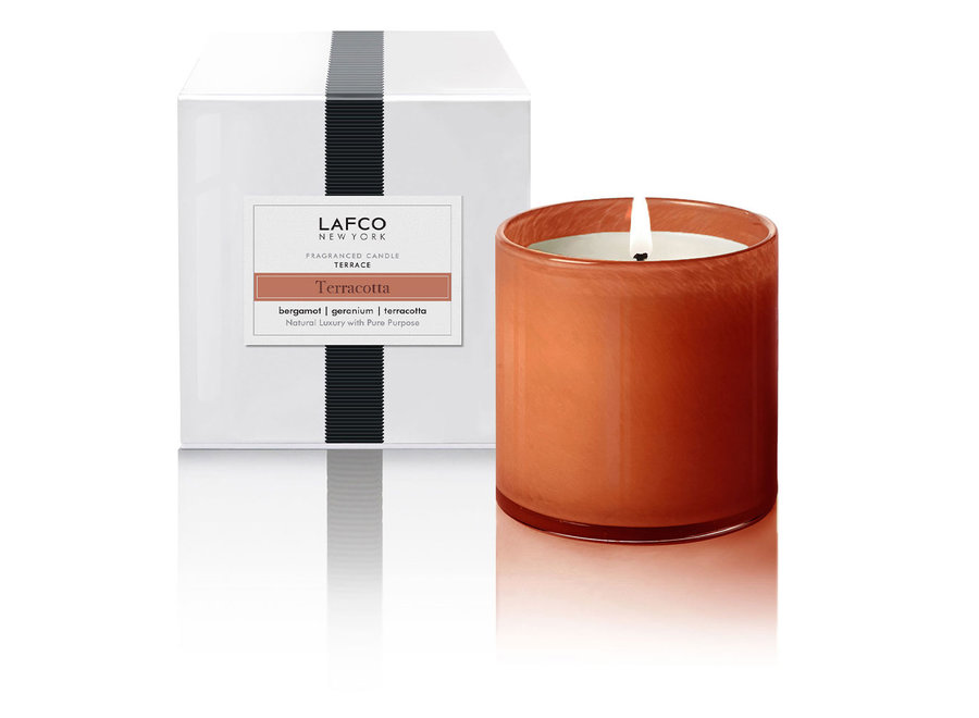Candle Terracotta