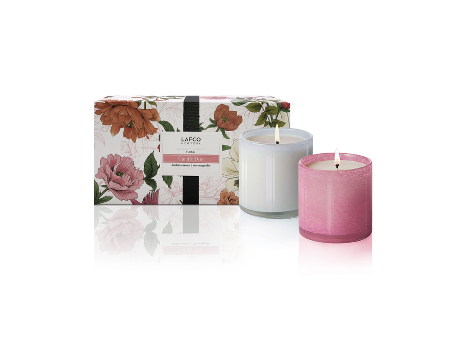 Spring Gift Set Candle Duo Floral & Herbal