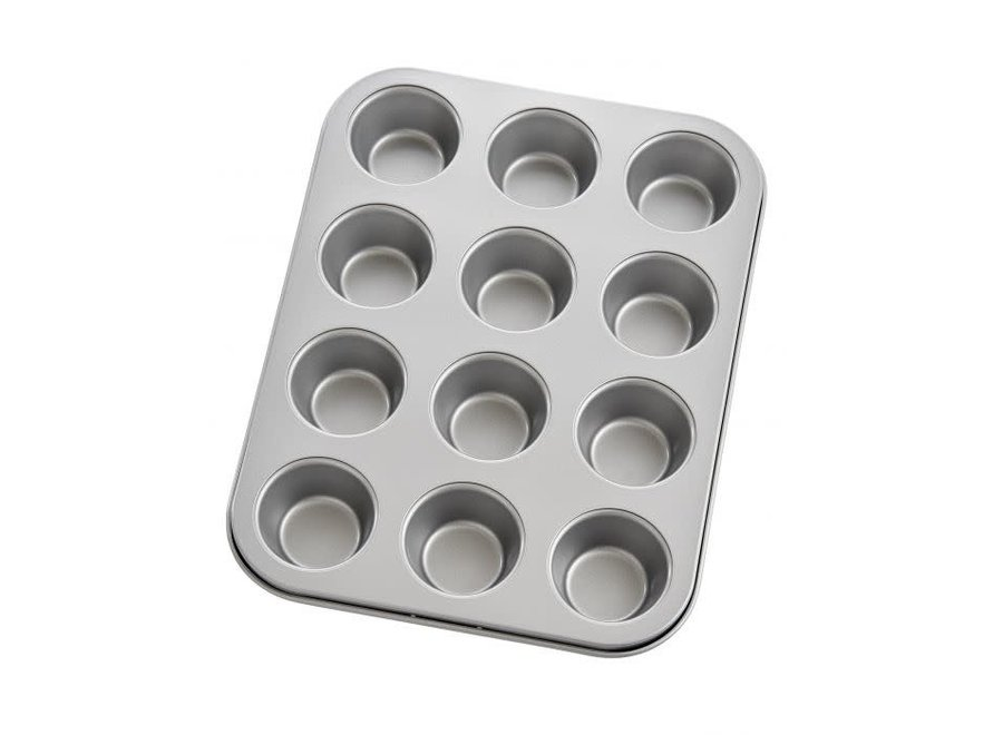 Non Stick Mini Muffin Pan, 12 Cup