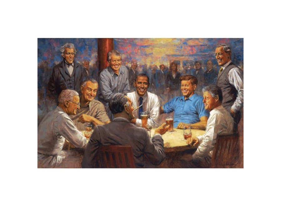 The Democrat Club 500 pc Puzzle